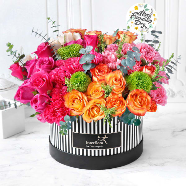 Vibe With You Friendship Day Flowers