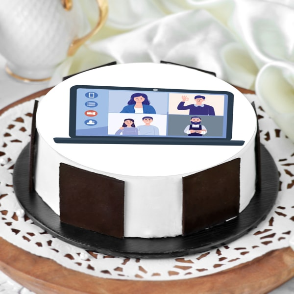 Video Calling with Family Cake (Half Kg)