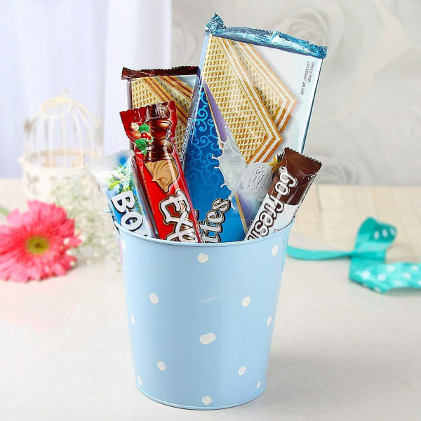 Wafer Chocolates and Bounty Chocolate Hamper