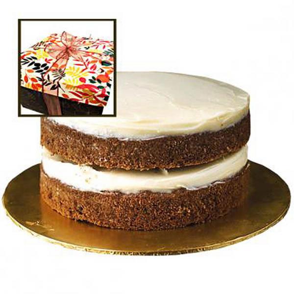 WALNUT CARROT TORTA CAKE