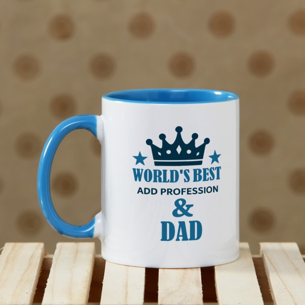 Worlds Best Dad Personalized Mug