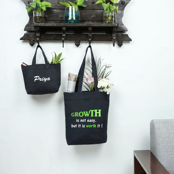 Worth It Eco-Friendly Canvas Shopping Bag Combo