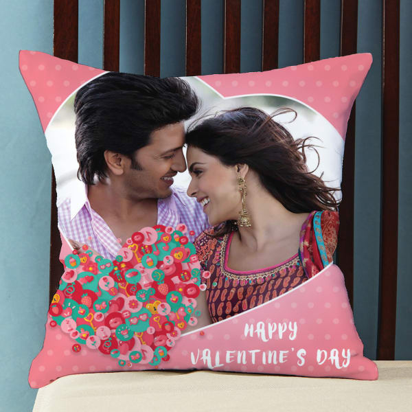You Complete Me Personalized Valentine Cushion