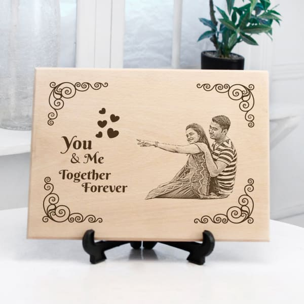 You & Me Forever Personalized Photo Frame