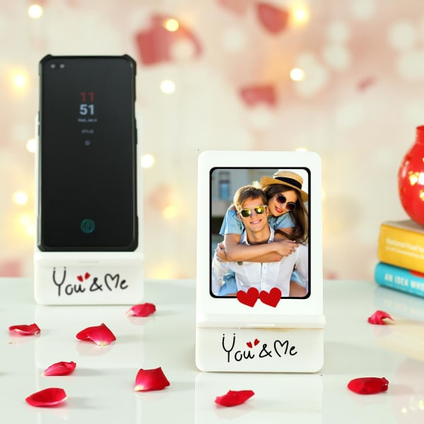 You & Me Personalized Mobile Stand