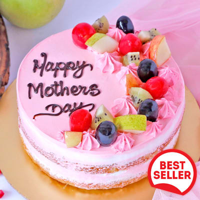 Mother's Day Special Mix Fruit Cake (Half Kg)