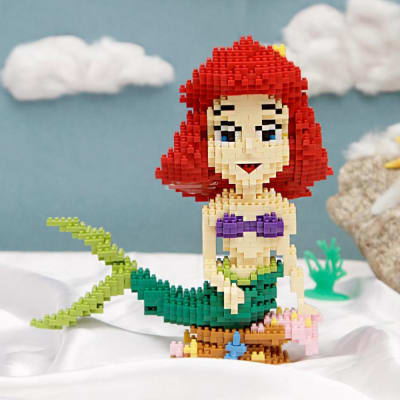 1460 Pcs Little Mermaid Block Building Assembly Set