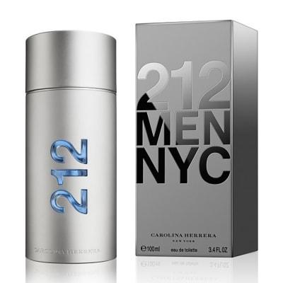 212 MEN NYC BY CAROLINA HERRERA FOR MEN EDT 100ML