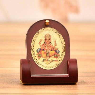 24 Carat Gold Plated Ganesha Frame