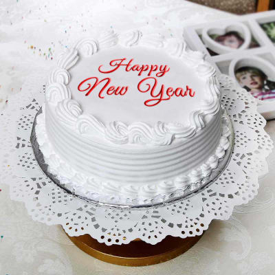 2Kg Vanilla Cake For New Year