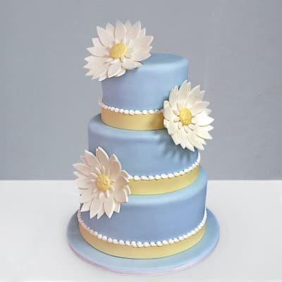 3 Tier Designer Fondant Cake (10 Kg)