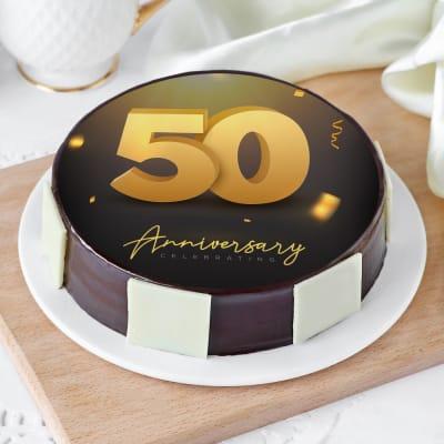 50th Anniversary Cake (1 Kg)