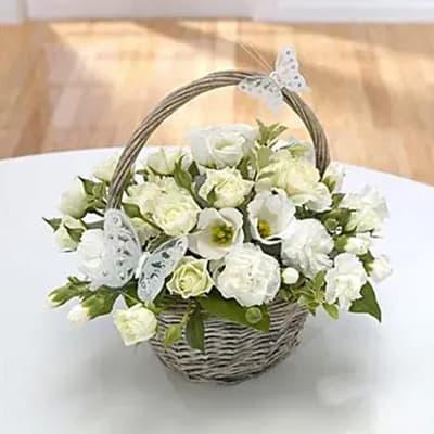 A Pure Gem Flower Arrangement