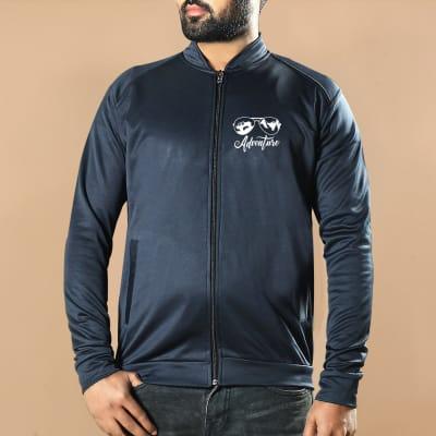 Adventure Grey Jacket for Men