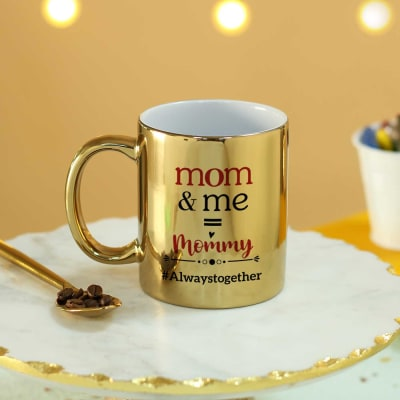 Always Together Golden Mug For Moms