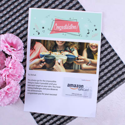 Personalized baby shower gifts online send personalized gifts to amazon gift card with personalized best wishes letter 2000 negle