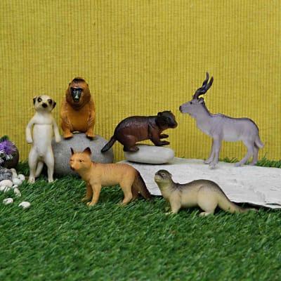 Animal World Set-6 Pcs