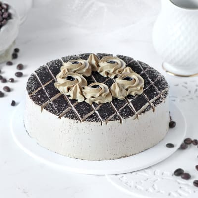 Appetizing Coffee Mocha Cake (Eggless) (Half Kg)
