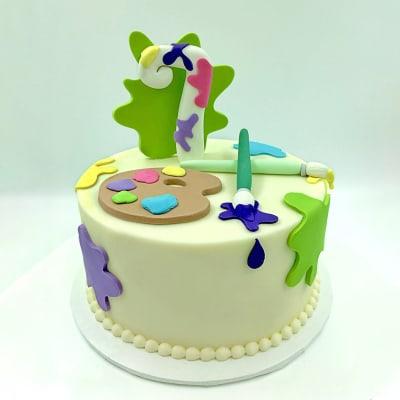 Artist Fondant Cake (4 Kg)