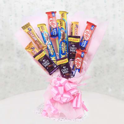 Assorted Chocolate Bouquet Surprise