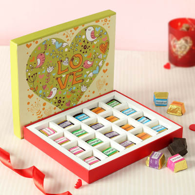 Assorted Chocolates in Gift Box 20 Pcs