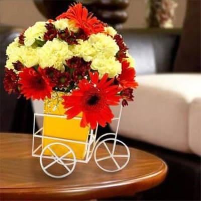 Assorted Flower Arrangement