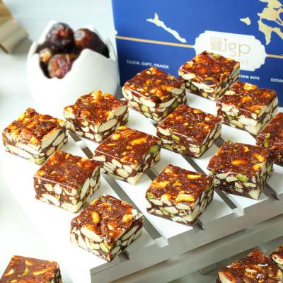 Assorted Sugar-Free Date Bites (500 gm)