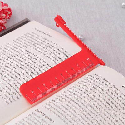 Attractive Red Bookmark