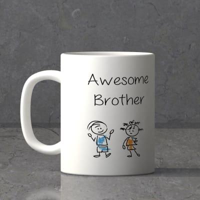Awesome Brother Personalized Mug