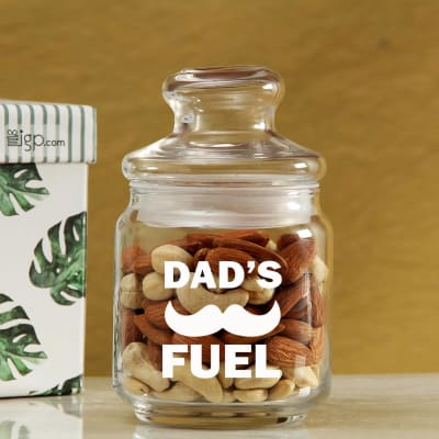 Awesome Dry Fruit Glass Jar with Lid In Gift Box