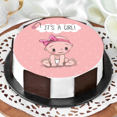 Baby Girl Cake (Half kg)