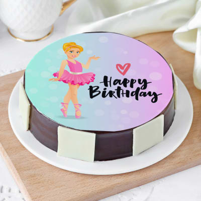 Barbie Cake (Half Kg)