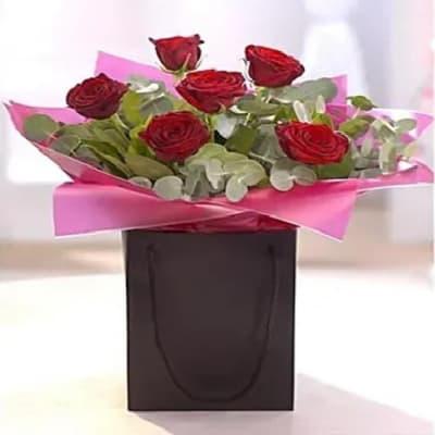 Be Mine Rose Flower Arrangement