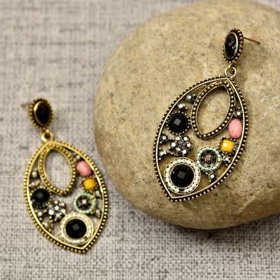 Beautiful Metallic Earrings for Women