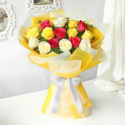 Beautiful Mix of Roses