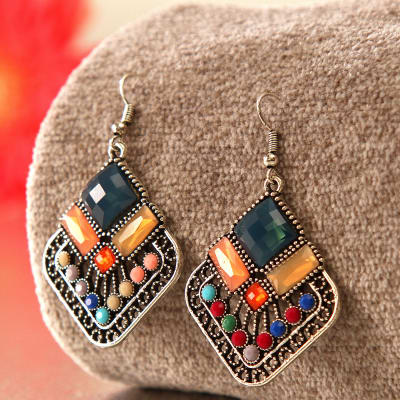 Birthday gifts for wife best birthday gift ideas for wife igp experiences and gift cards beautiful multi colored stone earrings negle Gallery