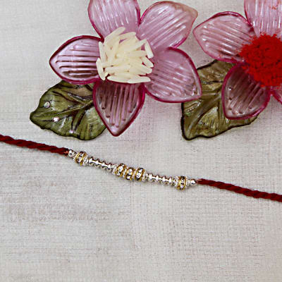 Send gifts to uk from india best gifts to london free gift beautiful thread rakhi negle Choice Image