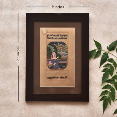 Beautifying Wooden Framed Painting