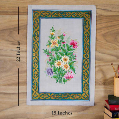 Beauty of Bunch Silk Painting