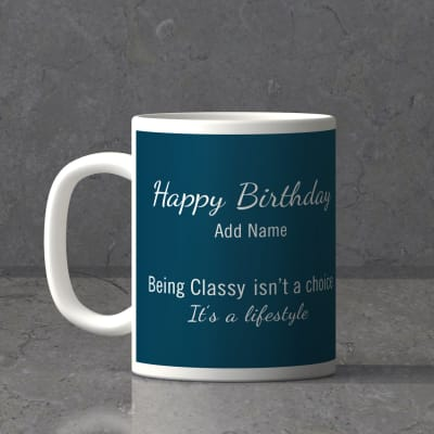 Being Cly Is A Lifestyle Personalized Birthday Mug