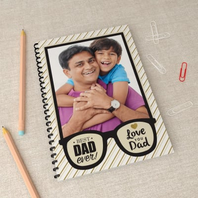 Best Dad Ever Personalized Notebook