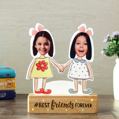 Best Friends Forever Caricature
