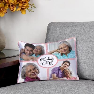 Best Grandma Personalized Cushion (12 X 15 inch)