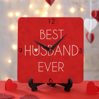 Best Husband Clock Gift Send Home And Living Gifts OnlineJ11060859