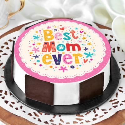 Best Mom Ever Cake (Half Kg)