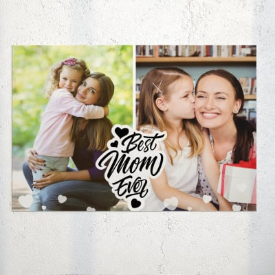 Best Mom Ever Personalized Poster