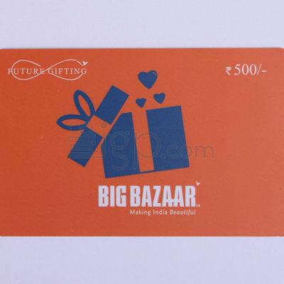 Big Bazaar Gift Card - Rs. 500