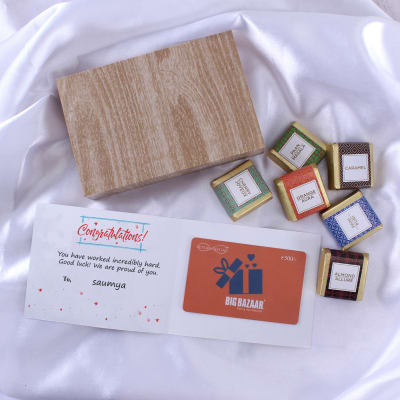 Personalized best wishes online send personalized gifts to india big bazaar personalized best wishes gift card with chocolates 500 negle Choice Image