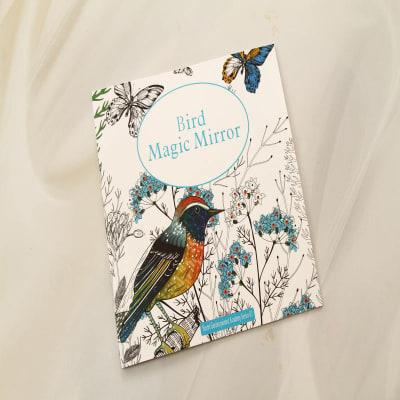Bird Magic Mirror Coloring Book