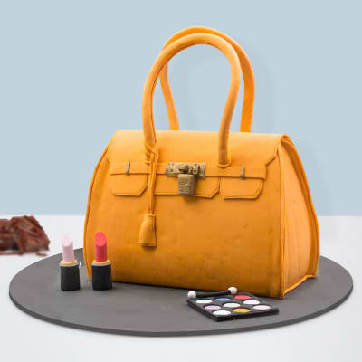 Birkin Bag Shaped Fondant Cake (3.5 Kg)